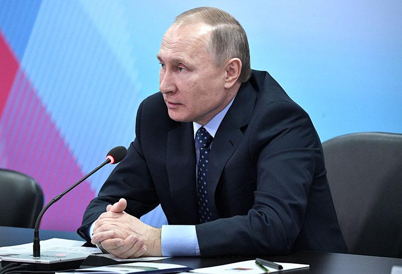 Владимир Путин проводит совещание по подготовке к проведению зимней универсиады в 2019 году