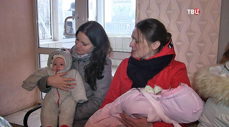 Дети из Донбасса