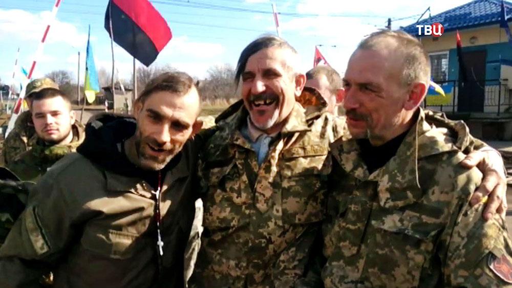 Украинские радикалы блокируют железную дорогу из России