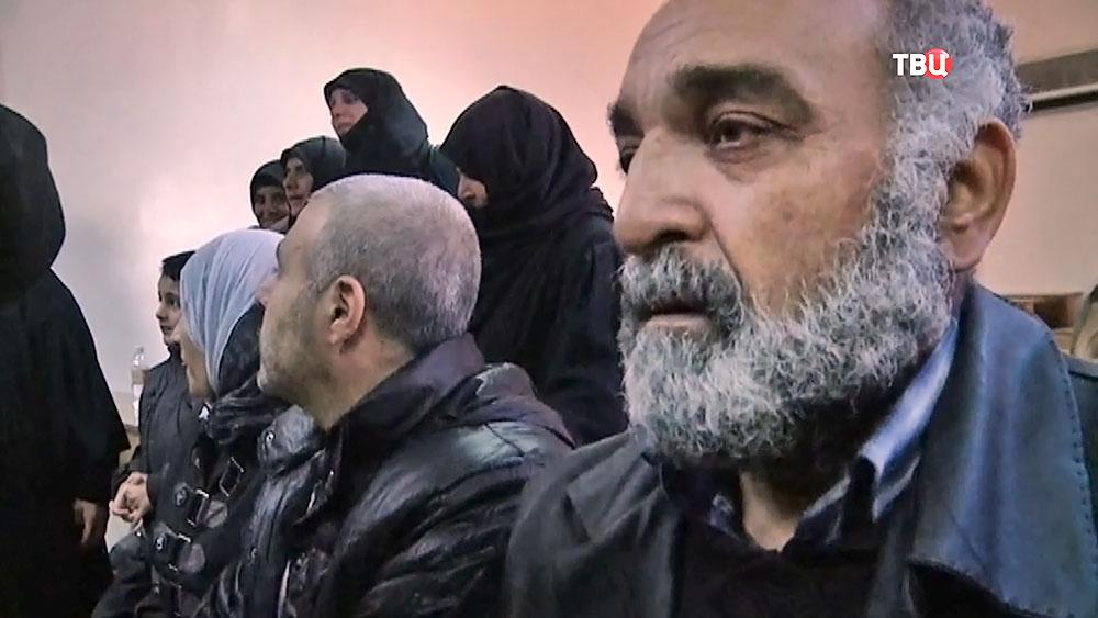Амнистированные боевики в Сирии