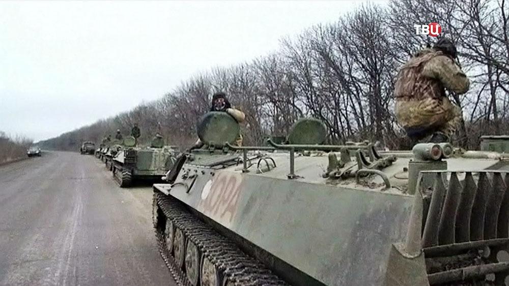 Украинский военный в Донбассе