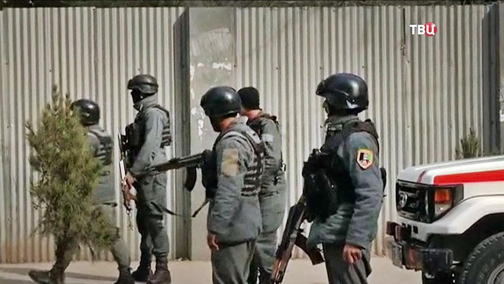 Полиция Афганистана