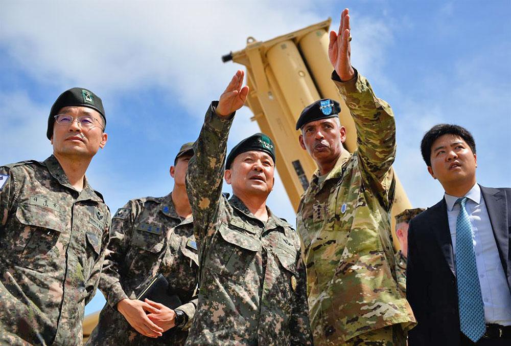 Системы ПРО THAAD (США) в Южной Корее