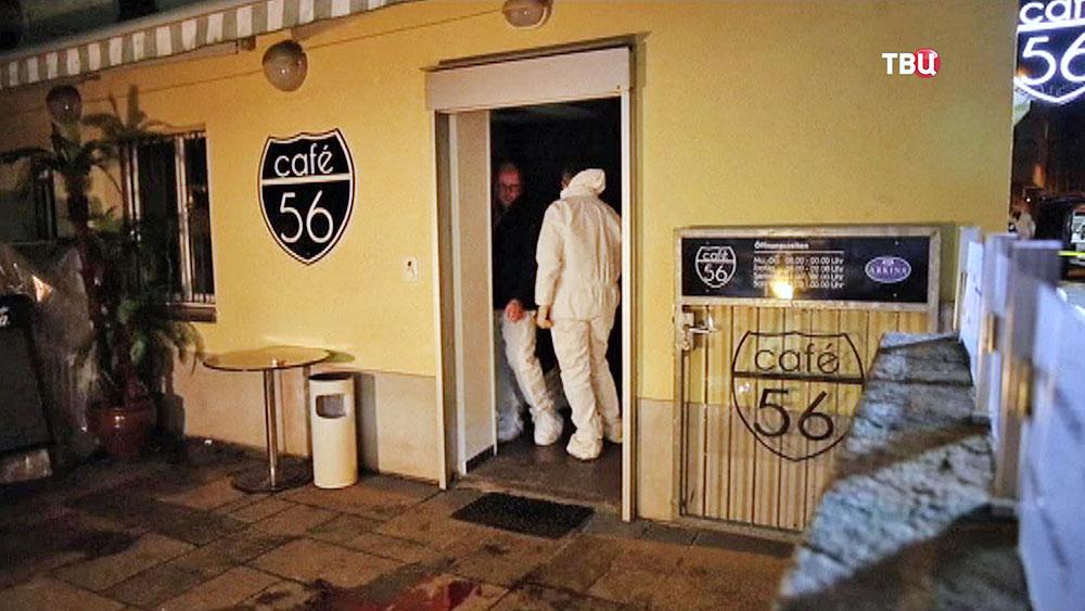 Швейцарские криминалисты на месте происшествия