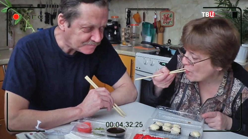 Видеоблогер пенсионерка тетя Люба