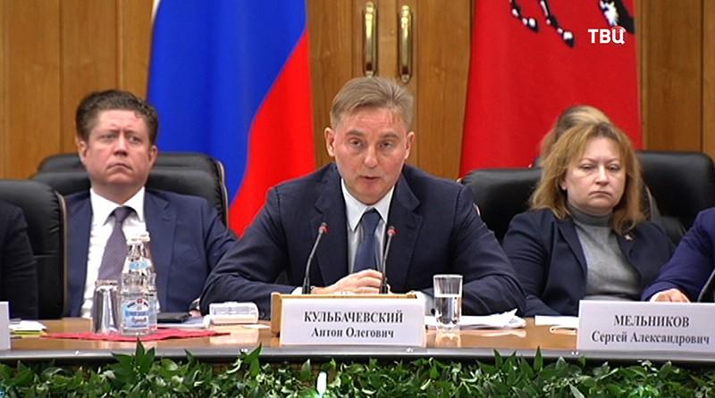 Руководитель Департамента природопользования Антон Кульбачевский
