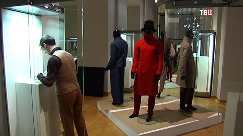 Выставка мужской моды