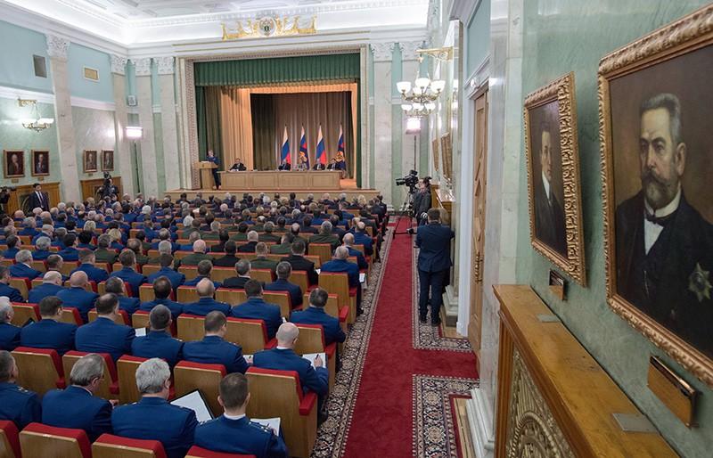На заседании итоговой коллегии Генеральной прокуратуры России