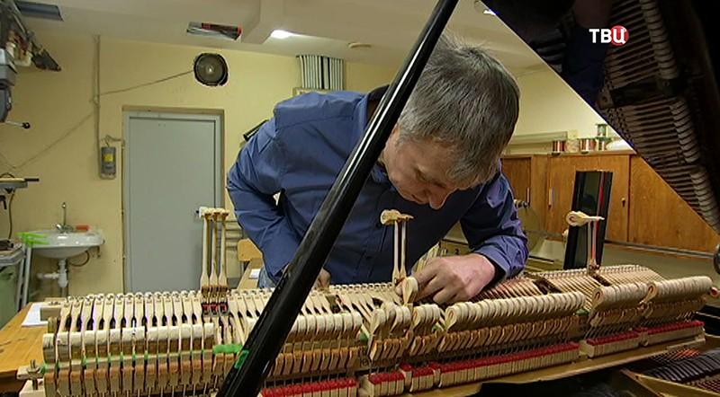 Реставрация роялей