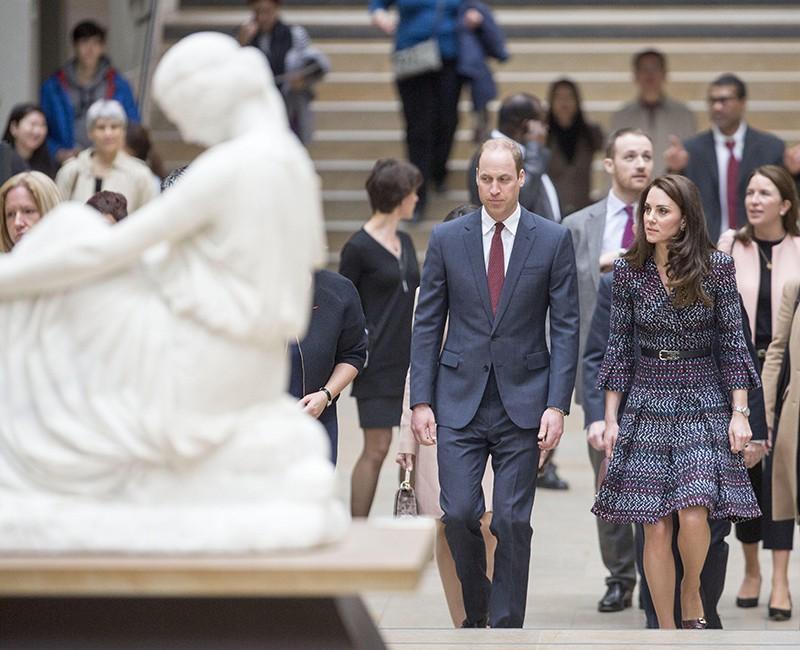 Принц Уильям с супругой