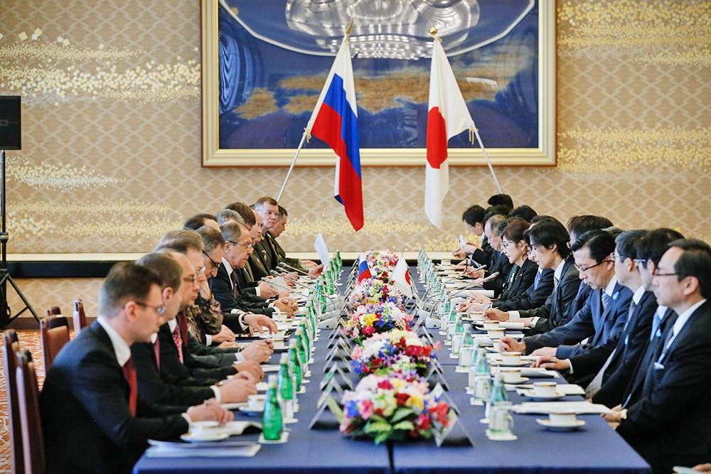 Переговоры министров иностранных дел и министров обороны России и Японии в Токио