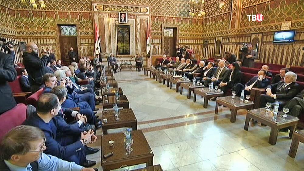 Визит Российских парламентариев в Сирию
