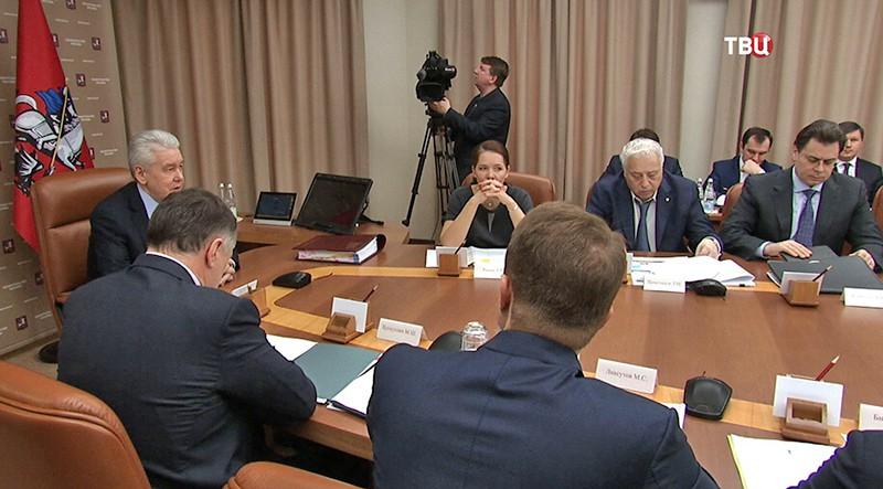 Заседание правительства Москвы