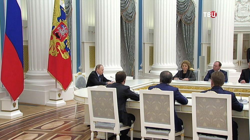 Заседание Совета по стратегическому развитию и приоритетным проектам