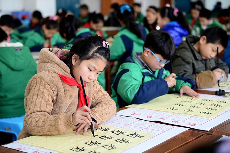 Школа в китаи картинки
