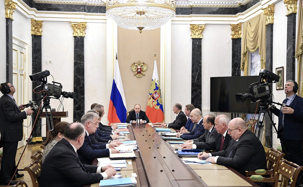 Заседание Комиссии по вопросам военно-технического сотрудничества с иностранными государствами