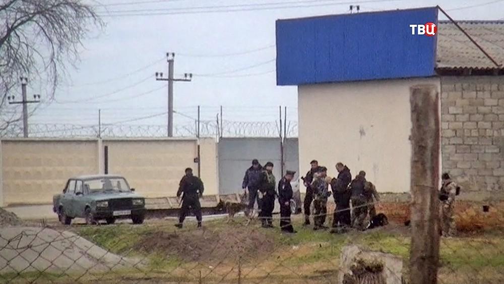 Спецоперация Росгвардии в Чечне