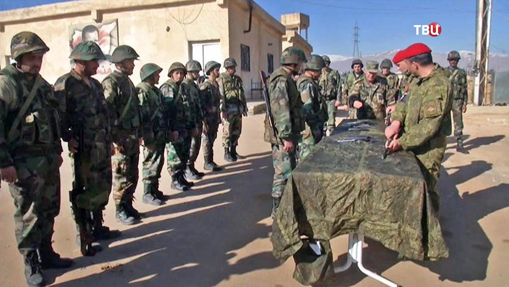 Военная подготовка для сирийских добровольцев