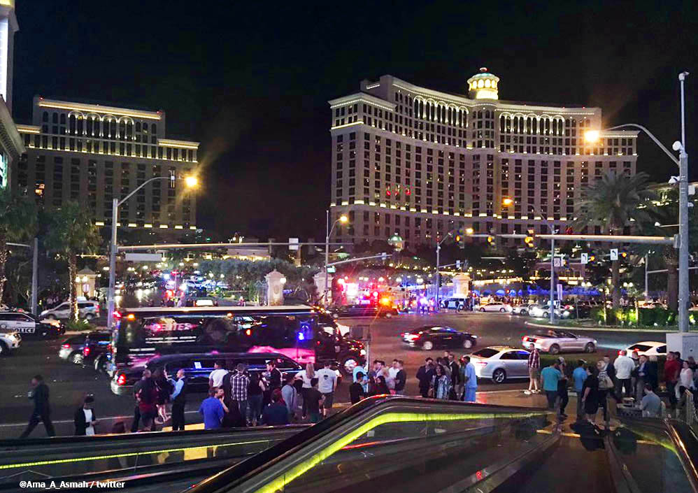Полиция США в Лас-Вегасе