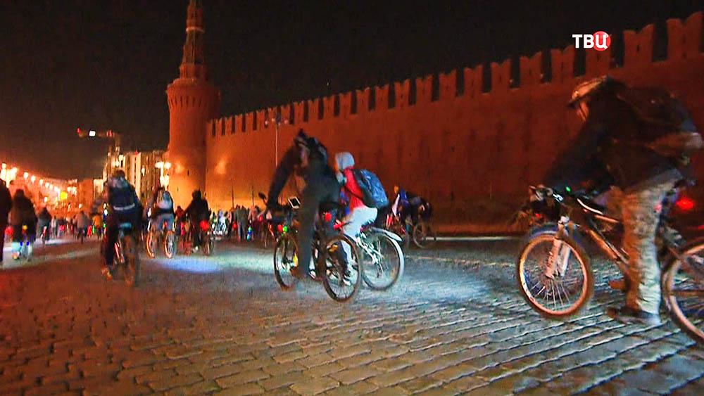 Велоночь в Москве
