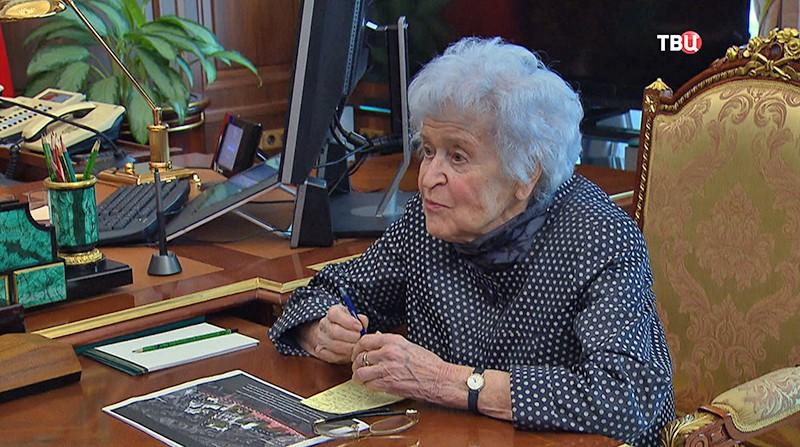 Президент Музея изобразительных искусств имени Пушкина Ирина Антонова
