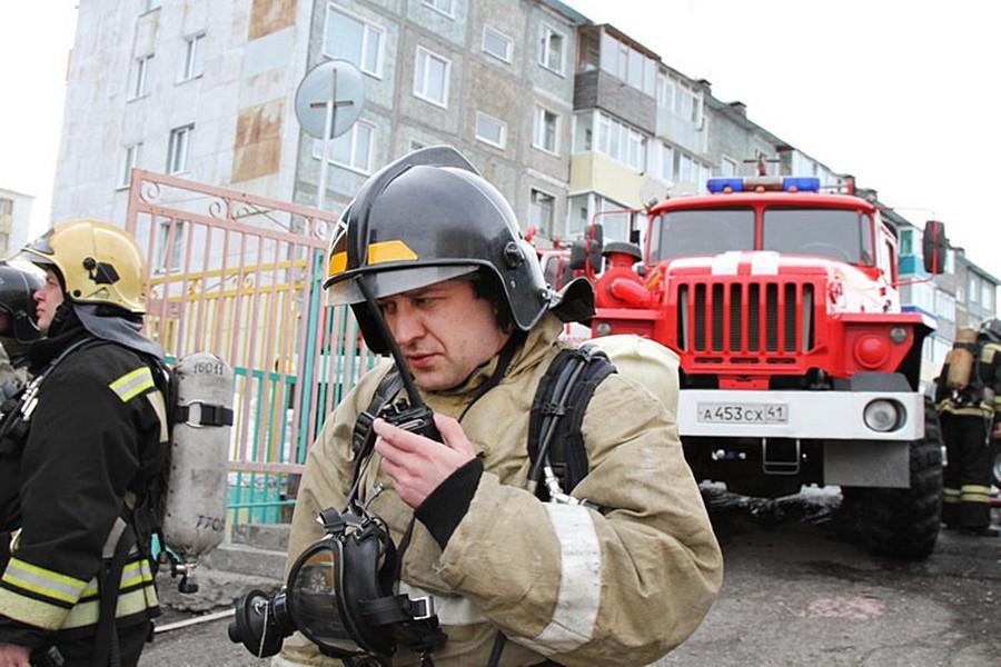 Спасатели МЧС на Камчатке