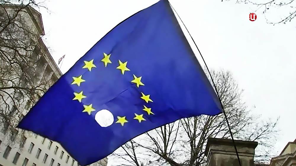 Флаг Евросоюза после выхода Великобритании