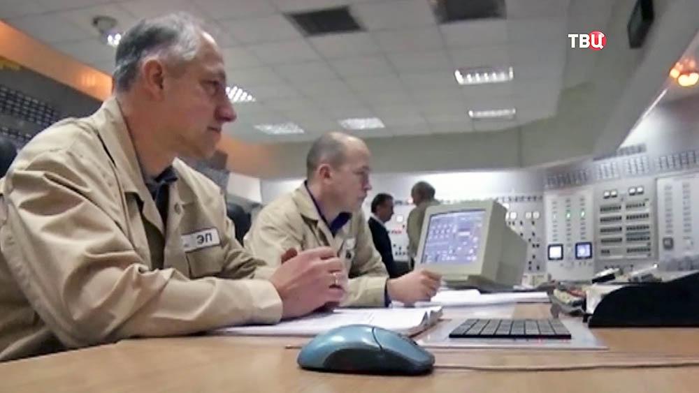 Работа АЭС на Украине