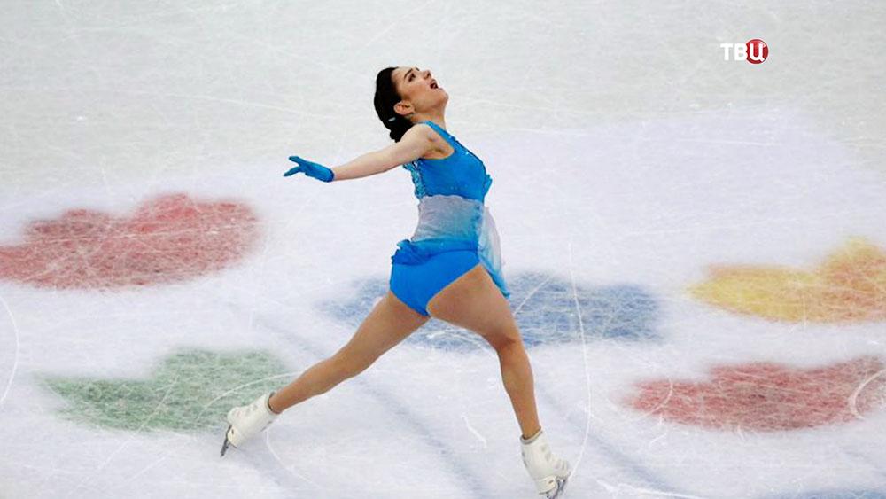 Фигуристка Евгения Медведева