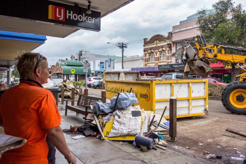 Ущерб от циклона в Австралии