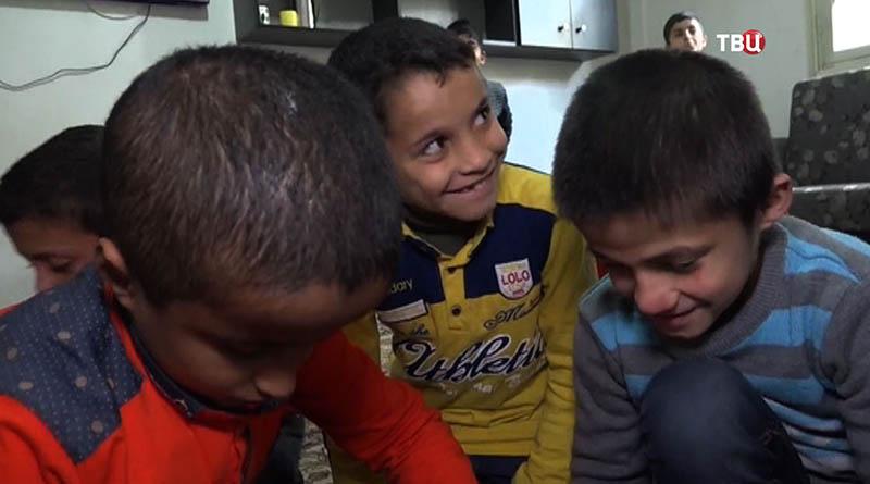 Приют для сирот в Алеппо