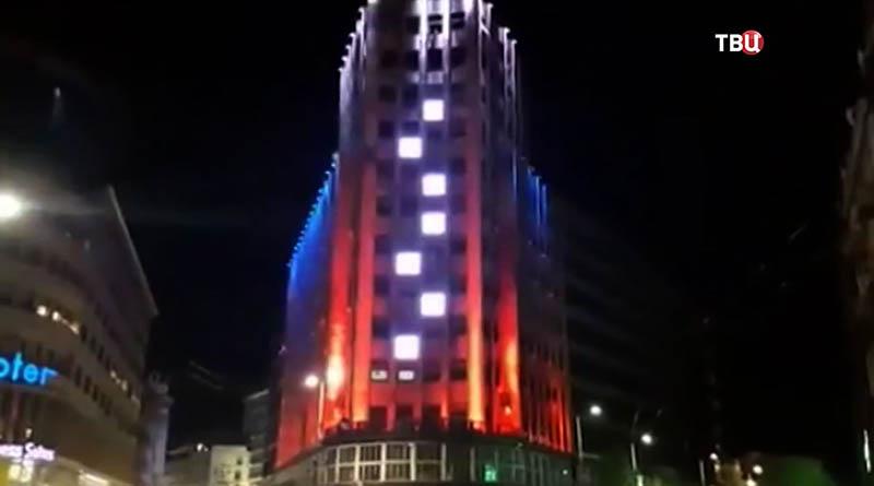 Дворец Албания в Белграде