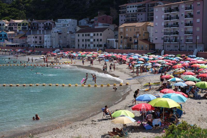 Пляж в Гибралтаре