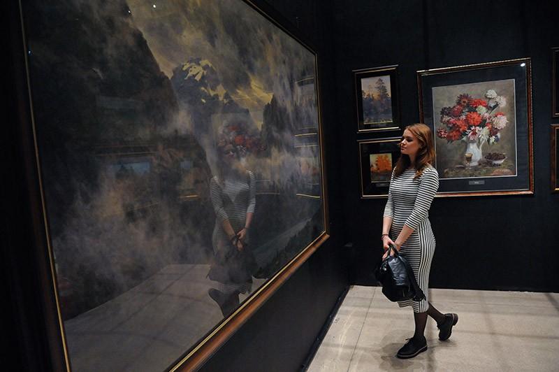 Выставка «Академия и школа акварели С.Андрияки» в ЦВЗ «Манеж»