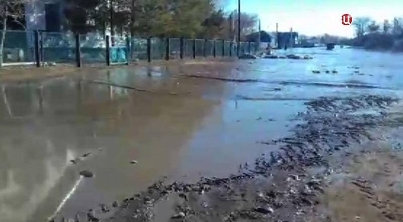 Весенние паводки в Оренбурге