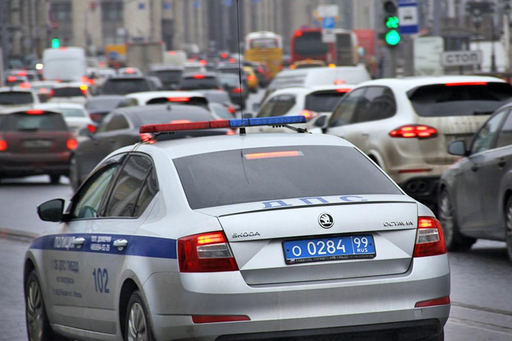 Машина ДПС в Москве