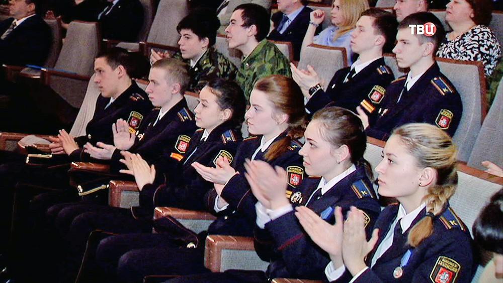 90-летние Московскому отделению ДОСААФ