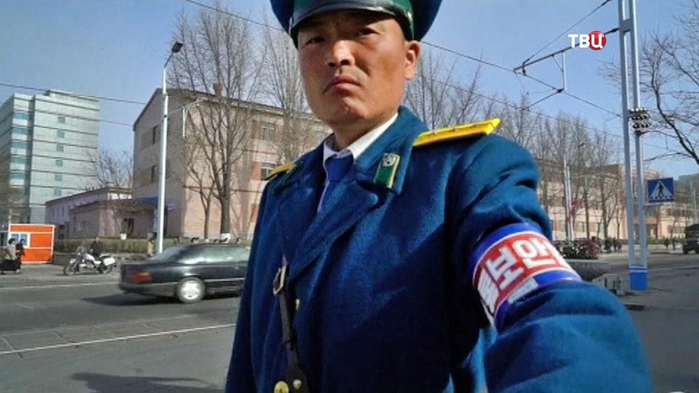 Полиция КНДР