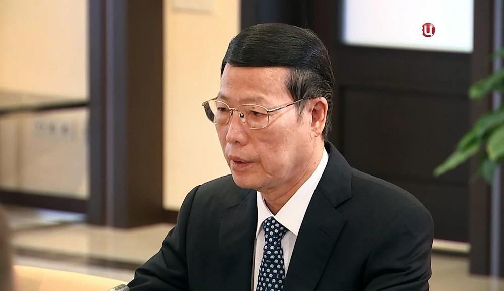 Первый заместитель Премьера Государственного Совета Китая Чжан Гаоли