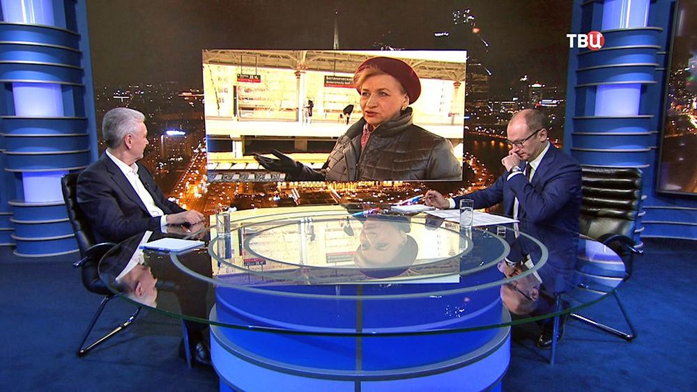 Сергей Собянин отвечает на вопросы москвичей