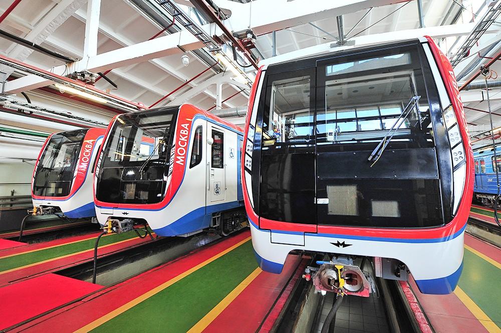 """Поезда метро """"Москва"""""""