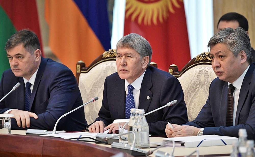 Президент Киргизии Алмазбек Атамбаев