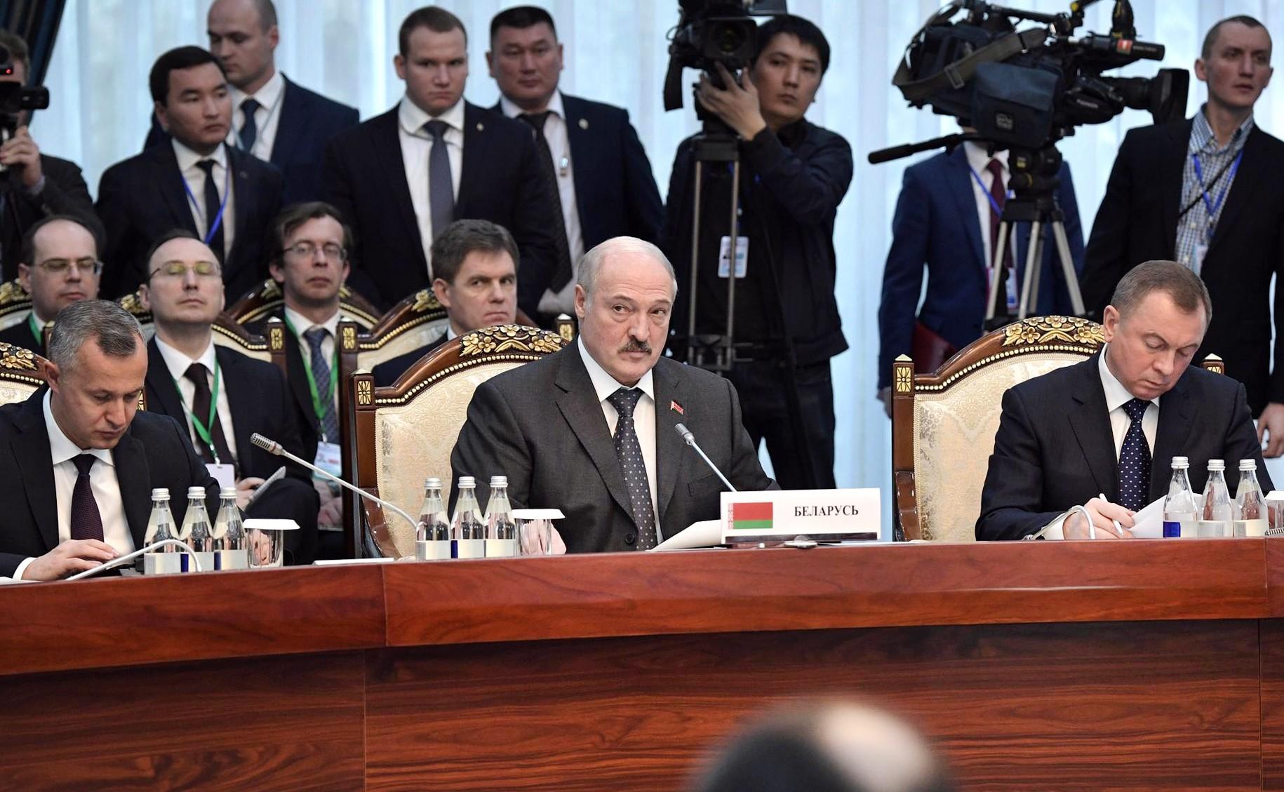 Президент Белорусии Александр Лукашенко