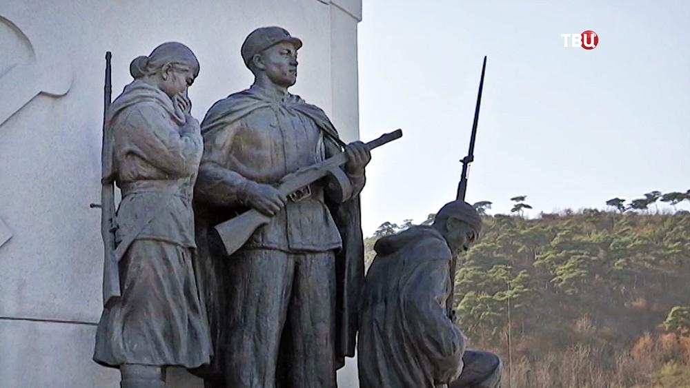 Военский мемориал в КНДР