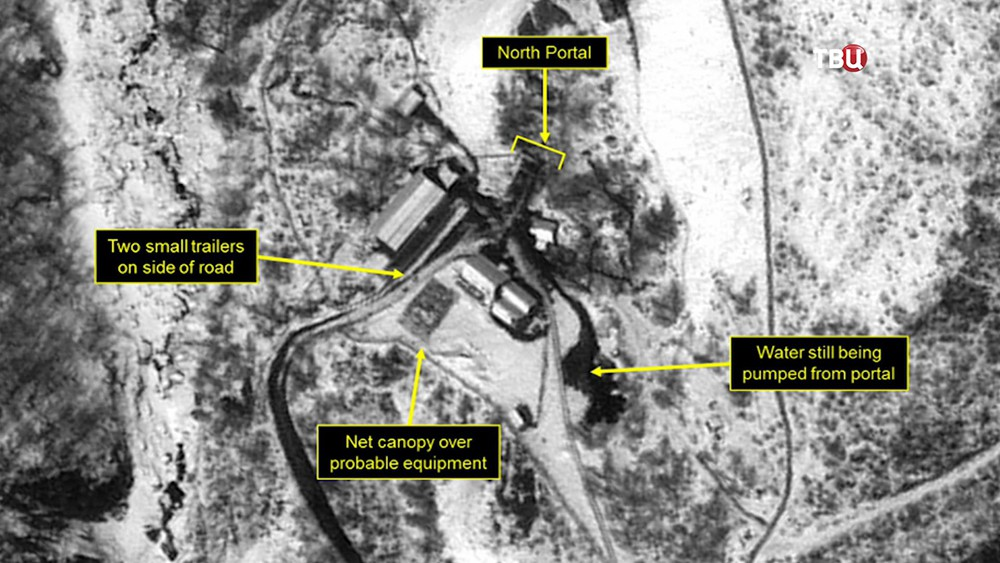 Сниимки военных объектов КНДР