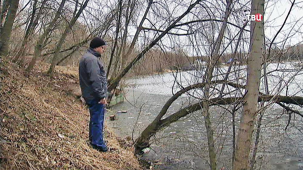 Берег Химкинского водохранилища