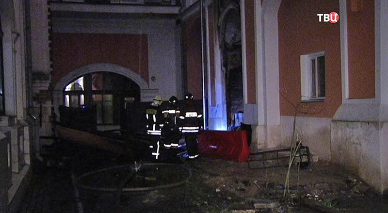 Пожар в храме