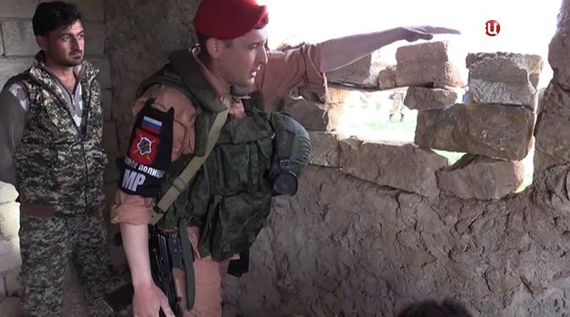Мастер-класс по самообороне в Сирии
