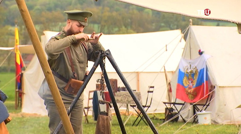 В городе Курси вспоминают подвиг русских солдат