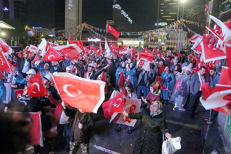 Победа на конституционном референдуме в Турции